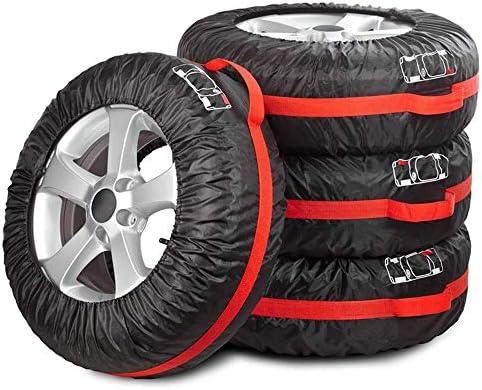 AGKupel スノーソックス スノーグリップテックス タイヤチェーン タイヤすべり止め 緊急用 4個