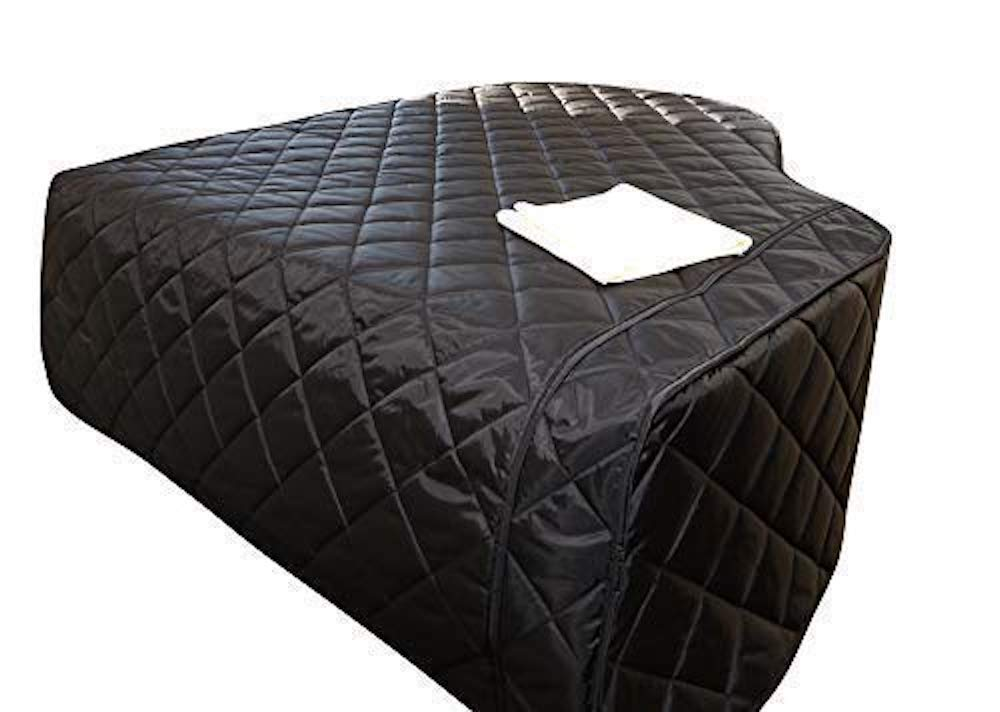 2 Items Steinway Model B 611 Bundle with L/&L Design Piano-Table Topper Steinway Grand Piano Cover Premium Black Quilted Grand Piano Protective Cover