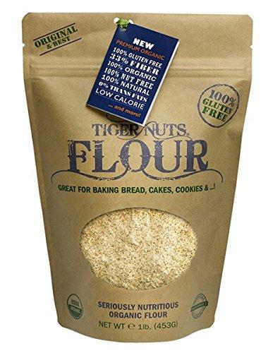 Price comparison product image TIGER NUTS FLOUR,  Gluten Free,  Organic,  Nut Free - 1 lb