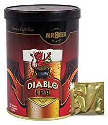 Mr. Beer Diablo IPA 2 Gallon Homebrewing Craft Beer Refill Kit