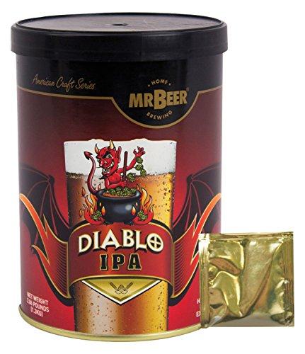 Mr. Beer Diablo IPA 2 Gallon Homebrewing Craft Beer Refill Kit