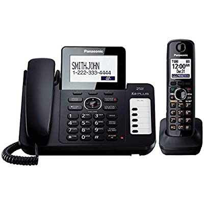 Panasonic DECT 6.0 Corded/Cordless Phone with Digital Answering System