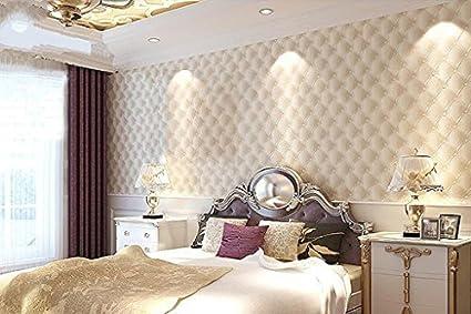 Hanmero Papier Peint Moderne Europeen Trompe L œil Luxe 3d Faux Cuir Pvc Mural Wallpaper Pour Chambre Tv Fond Bureaux