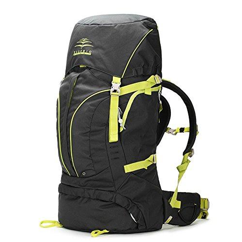 BUSL escalada al aire libre bolsa de viaje bolsa de hombro de los hombres y las mujeres a prueba de agua 60L mochila de senderismo de gran capacidad . b b