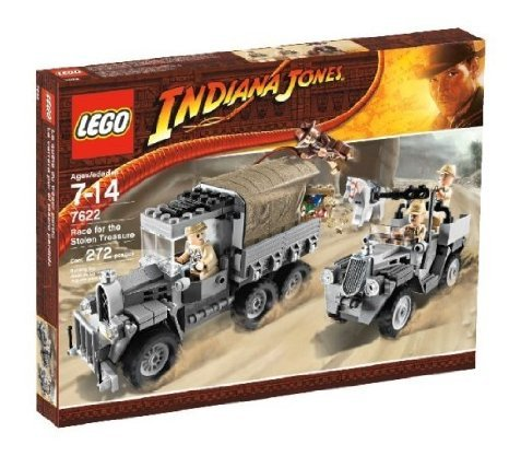 [해외] LEGO (레고) INDIANA JONES (인디안나 존스) RACE FOR THE STOLEN TREASURE 블럭 장난감 (병행수입)