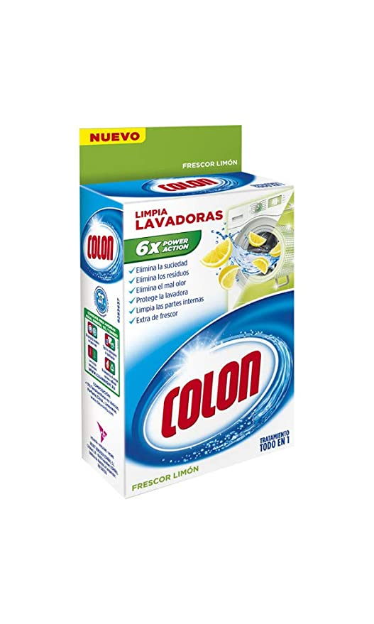 Colon Limpia Lavadoras Limón - 250 ml: Amazon.es: Amazon Pantry