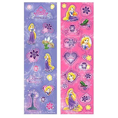 Disney Rapunzel Sticker | Party Favor | Pack of 8 -