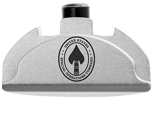 - NDZ Performance for Glock Gen 4-5 Grip Frame Slug Plug AL9 With Backstrap Installed Silver SOCOM Spec Ops