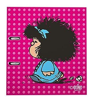 Grafoplas Mafalda - Archivador con palanca de 65 mm, A4, diseño 15 Pijama