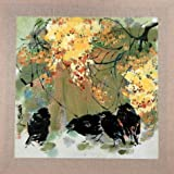 The High Quality Polyster Canvas Of Oil Painting 'Chinese Bird-and-Flower Painting' ,size: 20x20 Inch / 51x51 Cm ,this Best Price Art Decorative Canvas Prints Is Fit For Powder Room Decor And Home Decoration And Gifts