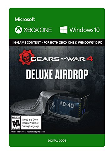 Gears of War 4: Deluxe Airdrop   - Xbox One / Windows 10 Digital Code