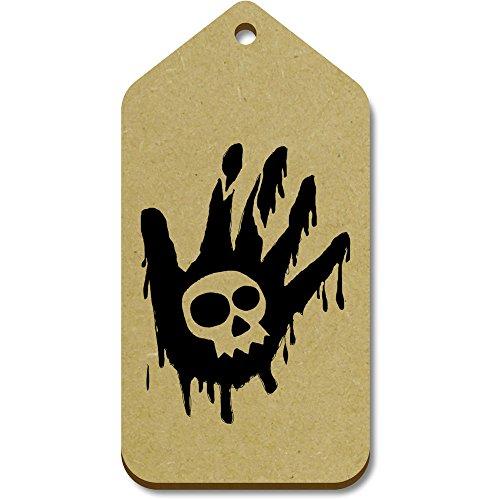 99mm En 'cráneo X 51mm Mano' Azeeda tg00011156 La equipaje Etiquetas Grande Regalo 10 Zw1x0qA4