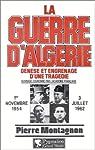 La Guerre d'Algérie par Montagnon