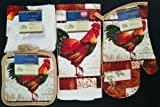 Best The Pecan Man Le Creuset Wine Racks - The Pecan Man COLORFUL FEATHER ROOSTER Everyday Decor Review