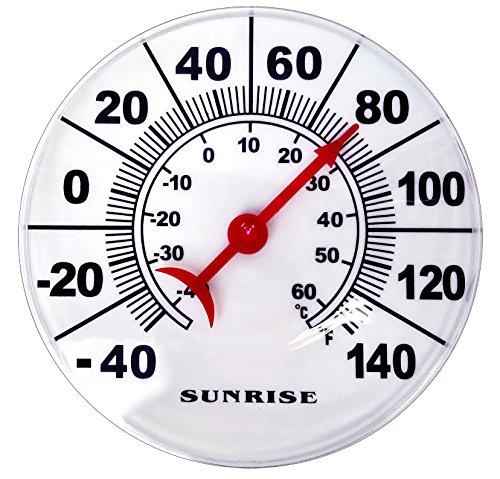 Premium Profile Outdoor Temperature Thermometer