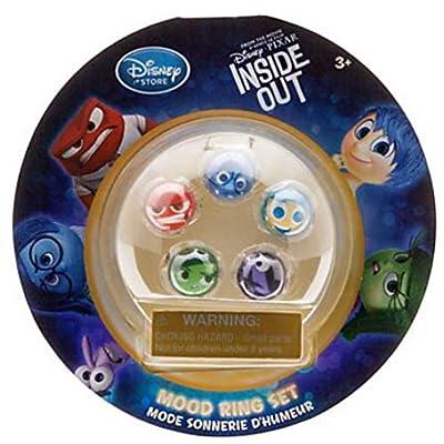 Disney / Pixar Inside Out Inside Out Mood Ring Set: Toys & Games