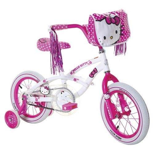 Hello Kitty 14 Inch Bike – White/pink Top Deals
