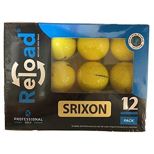 リロードのリサイクルゴルフボールSrixonゴルフボールby Srixon   B01LFL5Q2Y