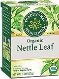 Traditional Medicinals Organic Nettle Herbal Leaf Tea, 16 Tea Bags...