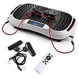 GENKI YD-1015W Vibration Platform Plate Whole Body Massager Machine Slim Exercise Fitness