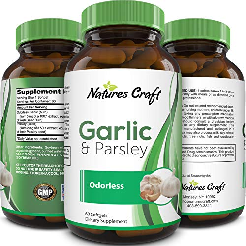 Antioxidant Supplement Odorless Garlic