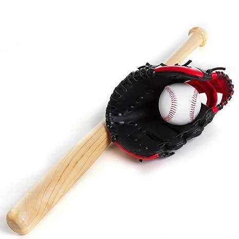 92ac0f136 Kit Taco De Baseball em Madeira e Bola e Luva YW274  Amazon.com.br ...