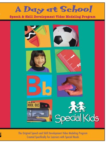 amazoncom special kids learning series a day at school