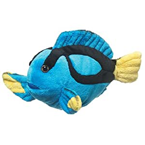 Blue tang fish plush toy by wildlife artists for Fish stuffed animal