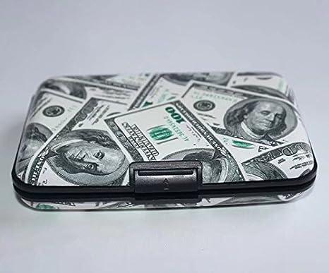 Aluma Aluminium Gray Wallet Credit Card Holder RFID Blocking