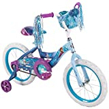 Huffy 16' Disney Frozen Girl Bike with Training Wheels Blue/Purple