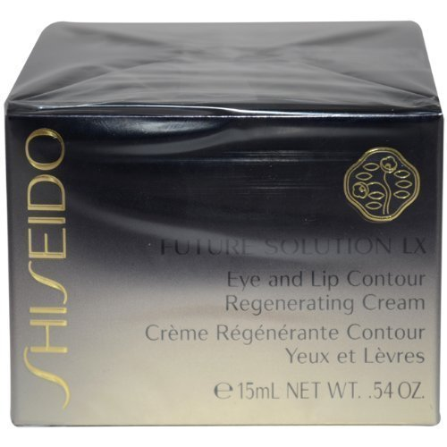 Shiseido Future Solution Lx Eye and Lip Contour Regenerating Cream for Unisex, 15ml/0.54oz by Shiseido [Beauty] by ()