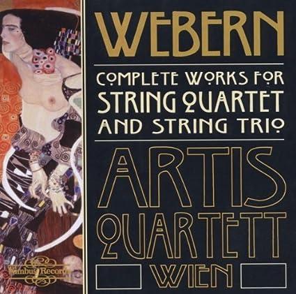 Webern: Complete Works for String Quartet and String Trio By Artis Quartett  Wien ,,Anton Webern : Artis Quartett Wien: Amazon.it: Musica