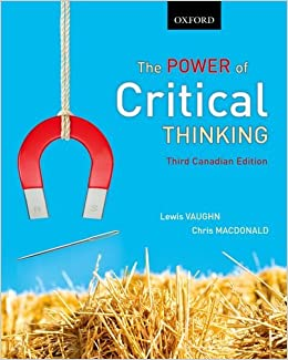 The power of critical thinking third canadian edition used
