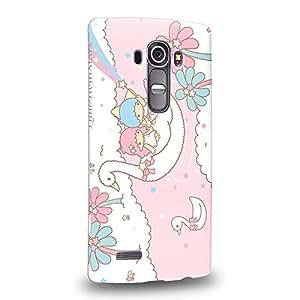 Case88 Premium Designs Little Twin Star Kiki And Lala Dreamy Diary 1341 Carcasa/Funda dura para el LG G4