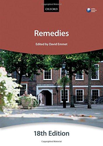 Remedies (Blackstone Bar Manuals)