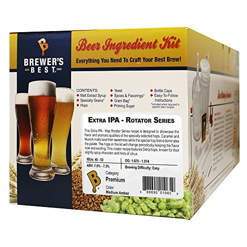 Home Brew Ohio HOZQ8-1445 Best Extra IPA-Rotator Series Beer Ingredient Kit, Multicolor