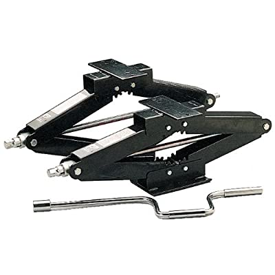 Husky 76862 Stabilizing Scissor Jack - Set of 2,Black,24 Inch: Automotive