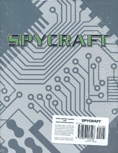 Spycraft: Game Control Screen and Agent Record Sheet Pack