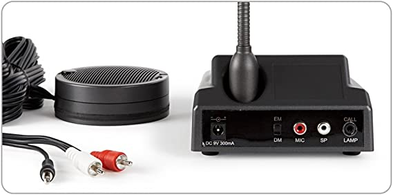 Fonestar GM-20P - Intercomunicador de ventanilla: Fonestar-Sistem-Sa: Amazon.es: Instrumentos musicales