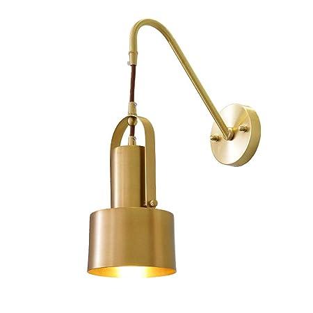 Proyector de pared de latón pulido moderno, cuerpo de la lámpara ...