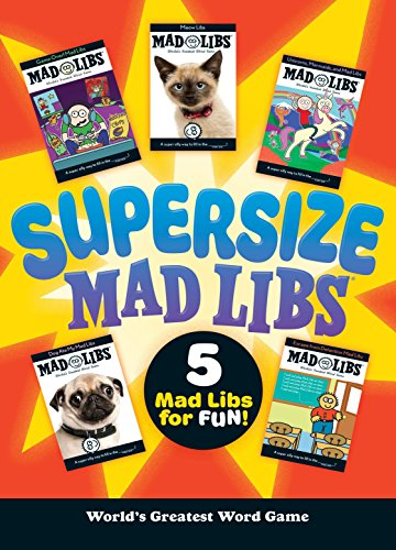 Halloween Fun Facts For College Students (Supersize Mad Libs)