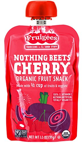 Fruigees Organic Fruit Nothing Cherry product image