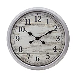 kieragrace-20 Wall Clock, Grey
