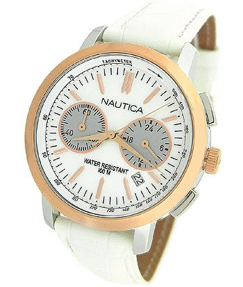 Nautica Chronograph Mother-of-pearl Dial Women's watch #N19579M