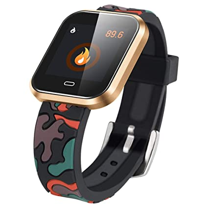 Amazon.com: Darshion Slimy Color Screen Smart Watch ...