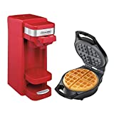 Proctor Silex FlexBrew Coffee Maker with Belgian Waffle Maker