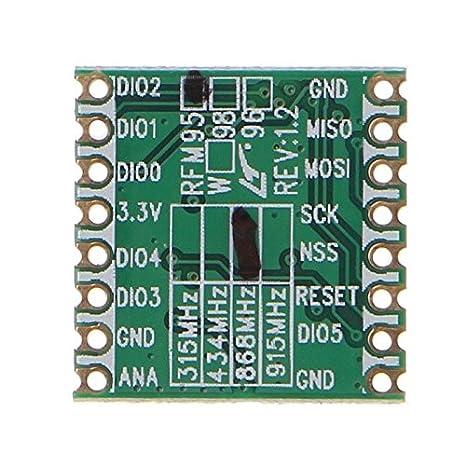 Ferrell RFM95 RFM95W SX1276 Wireless Transceiver: Amazon co uk