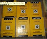 1994 Dodge Ram Van Wagon Service Repair Shop Manual Set (service manual, service manual supplements,and the powertrain diagnostics procedures manuals.)