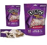 Dingo Twist Sticks Rawhide Dog Chews, 8.8 oz.
