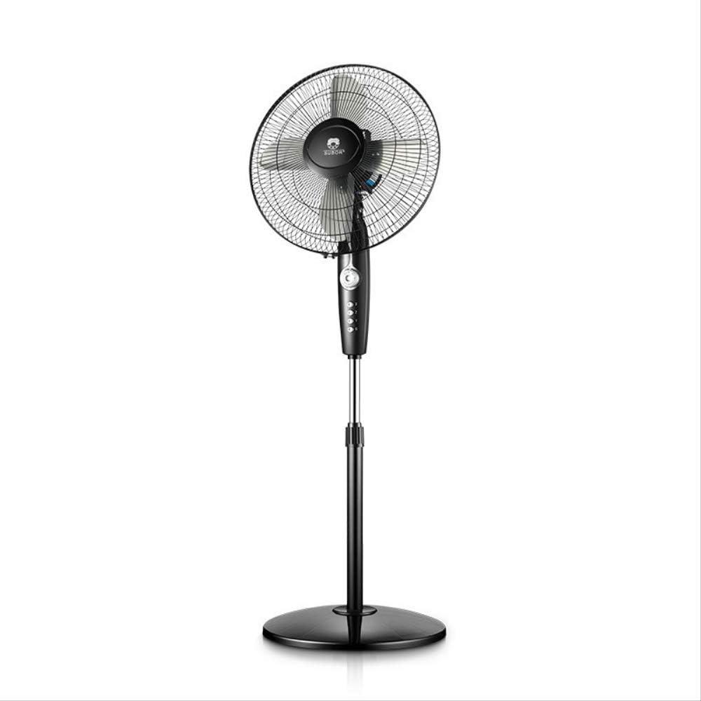 WGL Ventilador eléctrico Piso a Techo 4 Hojas silenciar Ventilador temporizada Adecuado para el hogar y la Oficina Hojas mecánicas de Aluminio